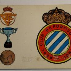 Coleccionismo deportivo: POSTAL DEL REAL CLUB DEPORTIVO ESPAÑOL Nº175 DE 1968. Lote 206404385