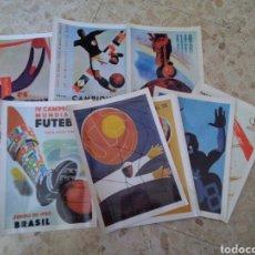 Coleccionismo deportivo: POSTALES/FICHAS MUNDIALES FUTBOL. Lote 206468220