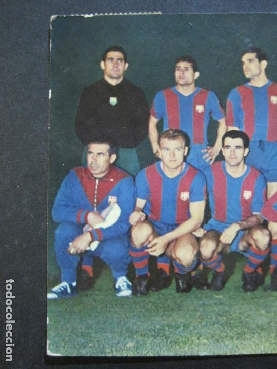 Coleccionismo deportivo: FC BARCELONA-PLANTILLA TEMPORADA 1961-KUBALA-LUIS SUAREZ-RAMALLETS...ETC-POSTAL ANTIGUA-(71.073) - Foto 4 - 206928441