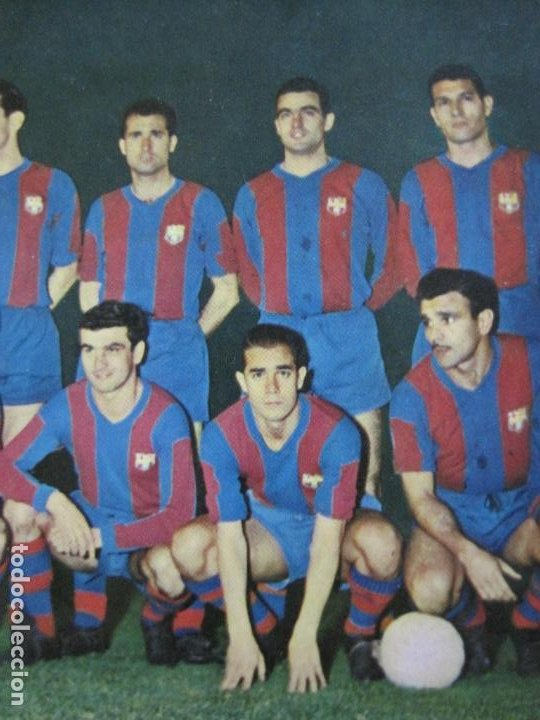 Coleccionismo deportivo: FC BARCELONA-PLANTILLA TEMPORADA 1961-KUBALA-LUIS SUAREZ-RAMALLETS...ETC-POSTAL ANTIGUA-(71.073) - Foto 5 - 206928441