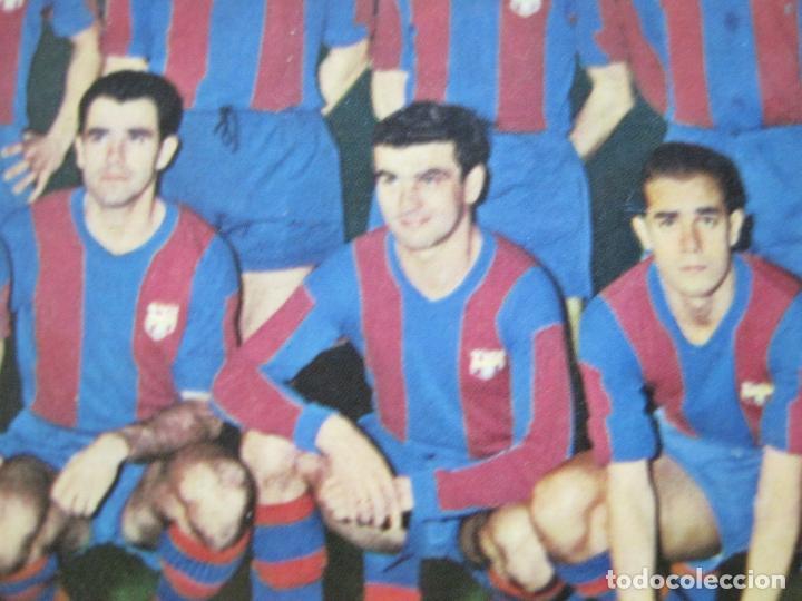 Coleccionismo deportivo: FC BARCELONA-PLANTILLA TEMPORADA 1961-KUBALA-LUIS SUAREZ-RAMALLETS...ETC-POSTAL ANTIGUA-(71.073) - Foto 12 - 206928441