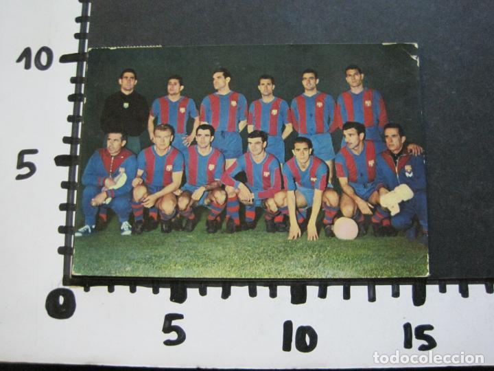 Coleccionismo deportivo: FC BARCELONA-PLANTILLA TEMPORADA 1961-KUBALA-LUIS SUAREZ-RAMALLETS...ETC-POSTAL ANTIGUA-(71.073) - Foto 15 - 206928441