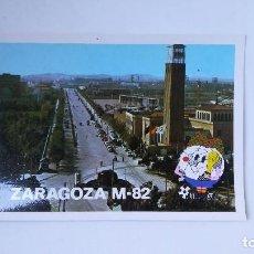 Coleccionismo deportivo: POSTAL MUNDIAL FÚTBOL 82 ZARAGOZA, ESTADIO DE LA ROMAREDA. Lote 207199872