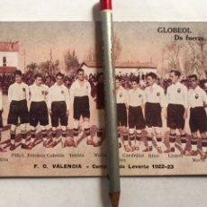 Coleccionismo deportivo: F.C. VALENCIA, FÚTBOL POSTAL, CAMPEÓN DE LEVANTE 1922/23, HIPÓLITO, PIÑOL, ESTEBAN, CUBELLS.... Lote 207541305