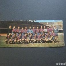 Coleccionismo deportivo: FC BARCELONA-CAMPEON DE LIGA 1958 59-KUBALA,LUIS SUAREZ-POSTAL PANORAMICA DOBLE-VER FOTOS-(V-20.373). Lote 207557297