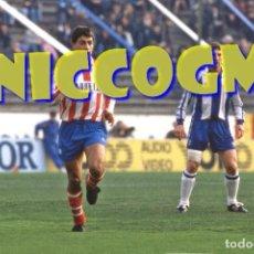 Coleccionismo deportivo: MOYA AT MADRID MOJ RCD ESPAÑOL ATLETICO FOTOGRAFIA FUTBOL JUGADOR 10X15 CENTIMETROS BUENA CALIDAD. Lote 208468786