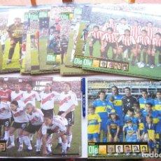 Coleccionismo deportivo: LOTE 19 POSTALES GRANDES CARTON EQUIPOS DIFERENTES CLAUSURA 2005 ARGENTINA ED. OLE 36X26 CM. Lote 208474142