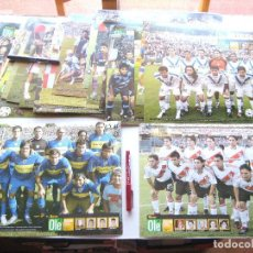 Coleccionismo deportivo: LOTE 20 POSTALES GRANDES CARTON EQUIPOS DIFERENTES CLAUSURA 2006 ARGENTINA ED. OLE 34X25 CM. Lote 208474337