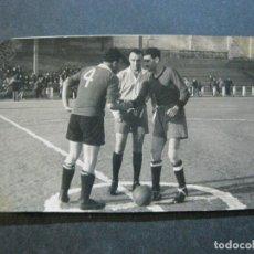Coleccionismo deportivo: FUTBOL-PARTIDO-SUAREZ REPORTER GRAFICO, BARCELONA-FOTOGRAFIA ANTIGUA-(72.133). Lote 209959092