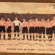 Coleccionismo deportivo: ATHLETIC CLUB DE BILBAO, CAMPEÓN DE ESPAÑA 1922-23. POSTAL SIN CIRCULAR COLECCIÓN BBK Y DEIA. Lote 209976522