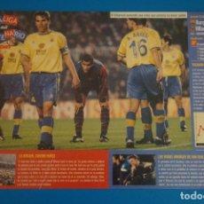 Coleccionismo deportivo: LAMINA DE FUTBOL PARTIDOS DEL F.C.BARCELONA DE DIARIO SPORT. Lote 210096821