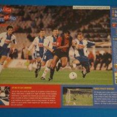 Coleccionismo deportivo: LAMINA DE FUTBOL PARTIDOS DEL F.C.BARCELONA DE DIARIO SPORT. Lote 210096837