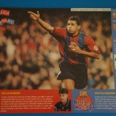 Coleccionismo deportivo: LAMINA DE FUTBOL PARTIDOS DEL F.C.BARCELONA DE DIARIO SPORT. Lote 210096885
