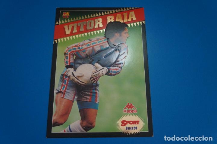 LAMINA DE FUTBOL VITOR BAIA DEL F.C.BARCELONA DE DIARIO SPORT (Coleccionismo Deportivo - Postales de Deportes - Fútbol)