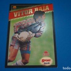 Coleccionismo deportivo: LAMINA DE FUTBOL VITOR BAIA DEL F.C.BARCELONA DE DIARIO SPORT. Lote 210098715