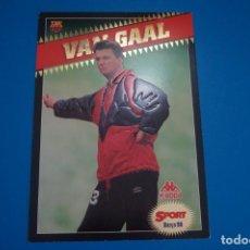 Coleccionismo deportivo: LAMINA DE FUTBOL VAN GAAL DEL F.C.BARCELONA DE DIARIO SPORT. Lote 210098861