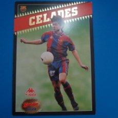 Coleccionismo deportivo: LAMINA DE FUTBOL CELADES DEL F.C.BARCELONA DE DIARIO SPORT. Lote 210099343