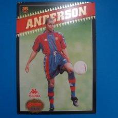 Coleccionismo deportivo: LAMINA DE FUTBOL ANDERSON DEL F.C.BARCELONA DE DIARIO SPORT. Lote 210099385