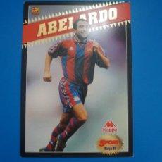 Coleccionismo deportivo: LAMINA DE FUTBOL ABELARDO DEL F.C.BARCELONA DE DIARIO SPORT. Lote 210099427