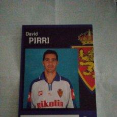 Coleccionismo deportivo: POSTAL REAL ZARAGOZA PIRRI. Lote 210117616
