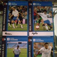 Coleccionismo deportivo: LOTE 7 POSTALES DIFERENTES REAL ZARAGOZA. Lote 210118572
