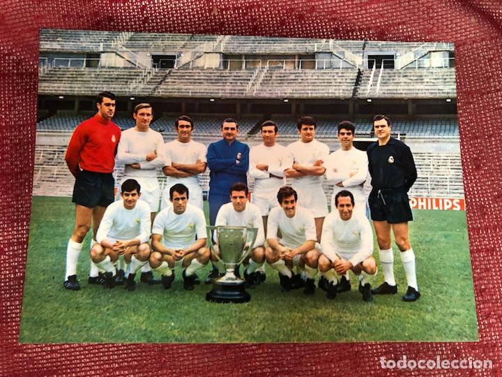 POSTAL REAL MADRID GRÁFICAS BERGAS (Coleccionismo Deportivo - Postales de Deportes - Fútbol)