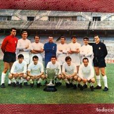 Coleccionismo deportivo: POSTAL REAL MADRID GRÁFICAS BERGAS. Lote 210140866