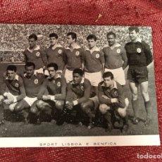 Coleccionismo deportivo: ANTIGUA POSTAL BENFICA AÑOS 60. Lote 210142178