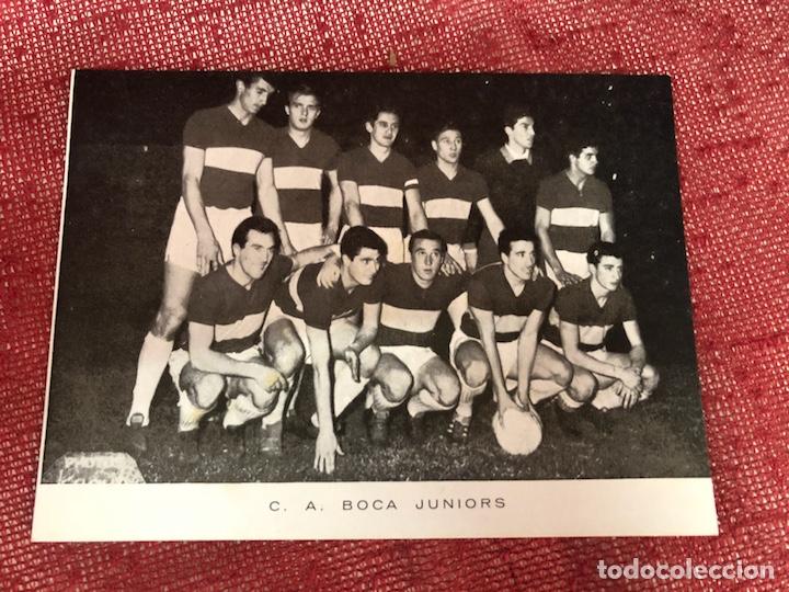 ANTIGUA POSTAL BOCA JUNIORS AÑOS 60 (Coleccionismo Deportivo - Postales de Deportes - Fútbol)