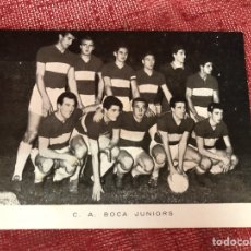 Coleccionismo deportivo: ANTIGUA POSTAL BOCA JUNIORS AÑOS 60. Lote 210142280