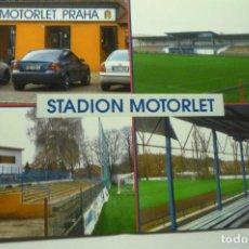 Coleccionismo deportivo: POSTAL FUTBOL PRAGA STADIO MOTORLET. Lote 210592963