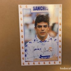 Coleccionismo deportivo: POSTAL REAL MADRID SANCHIS. Lote 211396474