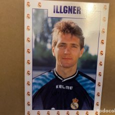 Coleccionismo deportivo: POSTAL REAL MADRID ILLGNER. Lote 211396707