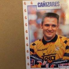 Coleccionismo deportivo: POSTAL REAL MADRID CAÑIZARES. Lote 211396766
