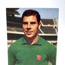 Coleccionismo deportivo: POSTAL MIGUEL REINA PORTERO FC BARCELONA 1973 FICHA TÈCNICA WILLIAMS. Lote 211414974