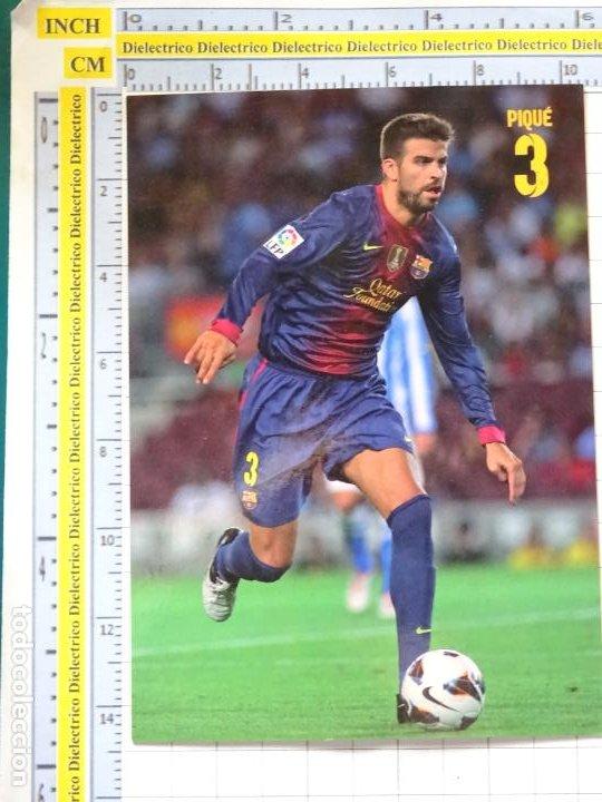 POSTAL DE DEPORTES. FÚTBOL CLUB BARCELONA. 3 GERARD PIQUÉ. 2169 (Coleccionismo Deportivo - Postales de Deportes - Fútbol)