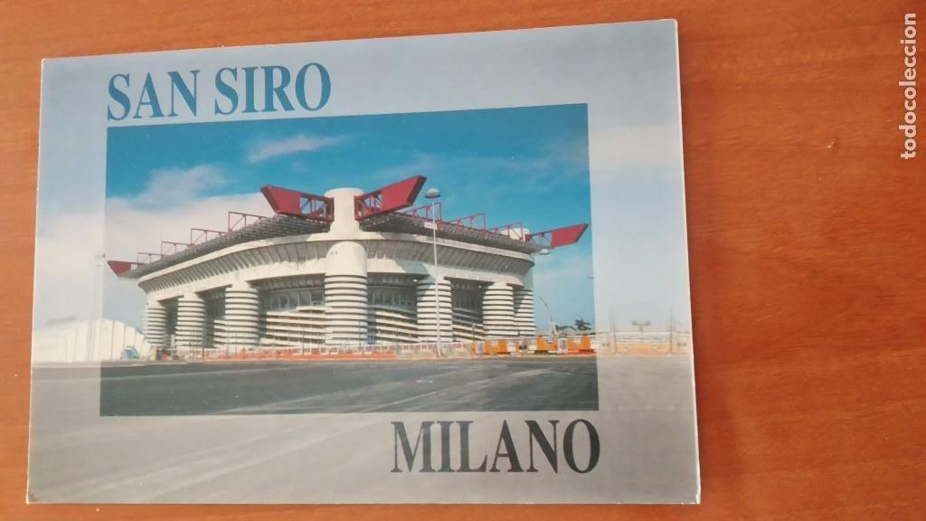 ESTADIO SAN SIRO GIUSEPPE MEAZA MILANO RV 1179 ESTADIO FUTBOL MILAN (Coleccionismo Deportivo - Postales de Deportes - Fútbol)
