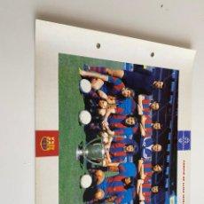 Coleccionismo deportivo: LAMINA DE FUTBOL CLUB BARCELONA EL GRAN ALBUM DEL BARCA LA VANGUARDIA Nº90 CAMPIÓ DE LLIGA. Lote 211794681