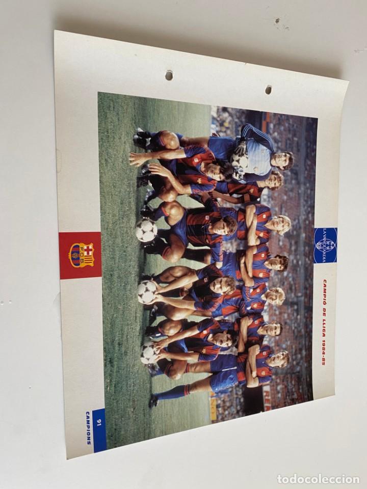 LAMINA DE FUTBOL CLUB BARCELONA EL GRAN ALBUM DEL BARCA LA VANGUARDIA Nº91 CAMPIÓ DE LLIGA (Coleccionismo Deportivo - Postales de Deportes - Fútbol)