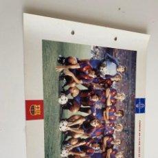 Coleccionismo deportivo: LAMINA DE FUTBOL CLUB BARCELONA EL GRAN ALBUM DEL BARCA LA VANGUARDIA Nº91 CAMPIÓ DE LLIGA. Lote 211794716