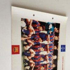 Coleccionismo deportivo: LAMINA DE FUTBOL CLUB BARCELONA EL GRAN ALBUM DEL BARCA LA VANGUARDIA Nº92 CAMPIÓ DE LLIGA. Lote 211794731