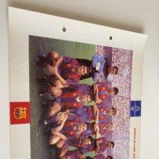 Coleccionismo deportivo: LAMINA DE FUTBOL CLUB BARCELONA EL GRAN ALBUM DEL BARCA LA VANGUARDIA Nº93 CAMPIÓ DE LLIGA. Lote 211794788