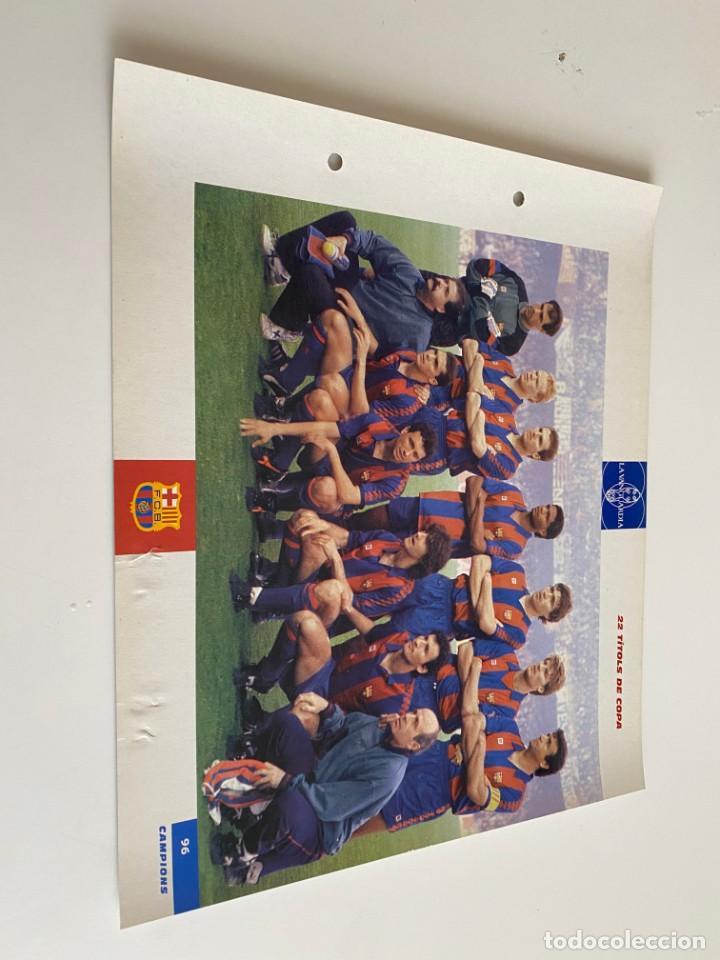 LAMINA DE FUTBOL CLUB BARCELONA EL GRAN ALBUM DEL BARCA LA VANGUARDIA Nº96 22 TITOLS DE COPA (Coleccionismo Deportivo - Postales de Deportes - Fútbol)