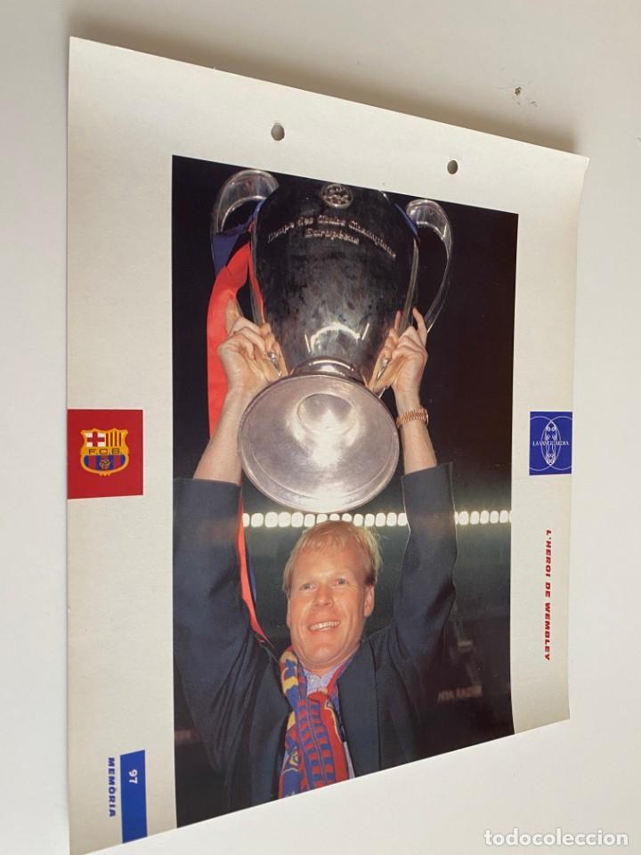 LAMINA DE FUTBOL CLUB BARCELONA EL GRAN ALBUM DEL BARCA LA VANGUARDIA Nº97 L`HEROI DE WEMBLEV (Coleccionismo Deportivo - Postales de Deportes - Fútbol)