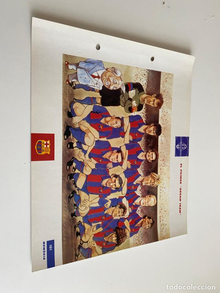 LAMINA DE FUTBOL CLUB BARCELONA EL GRAN ALBUM DEL BARCA LA VANGUARDIA Nº101 EL PRIMER ``DREAM TEAM`` (Coleccionismo Deportivo - Postales de Deportes - Fútbol)
