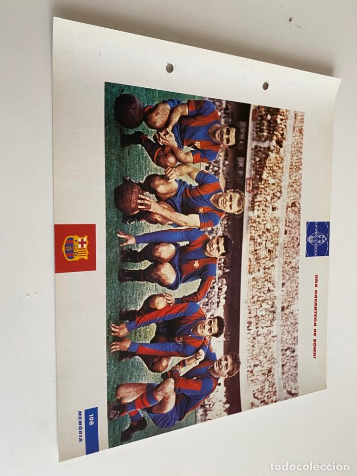 LAMINA DE FUTBOL CLUB BARCELONA EL GRAN ALBUM DEL BARCA LA VANGUARDIA Nº108 UNA DAVANTERA DE SOMNI (Coleccionismo Deportivo - Postales de Deportes - Fútbol)