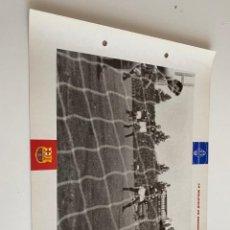 Coleccionismo deportivo: LAMINA DE FUTBOL CLUB BARCELONA EL GRAN ALBUM DEL BARCA LA VANGUARDIA Nº107 LA MADLICIÓ DE BERNA. Lote 211795627