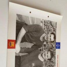 Coleccionismo deportivo: LAMINA DE FUTBOL CLUB BARCELONA EL GRAN ALBUM DEL BARCA LA VANGUARDIA Nº115 CESAR I ELS GONZALVO. Lote 211795948