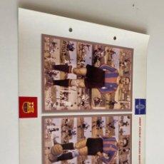 Coleccionismo deportivo: LAMINA DE FUTBOL CLUB BARCELONA EL GRAN ALBUM DEL BARCA LA VANGUARDIA Nº116 JOSEP ESCOLA I MARIANO M. Lote 211796037