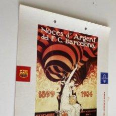 Coleccionismo deportivo: LAMINA DE FUTBOL CLUB BARCELONA EL GRAN ALBUM DEL BARCA LA VANGUARDIA Nº118 NOCES D`ARGENT. Lote 211796131